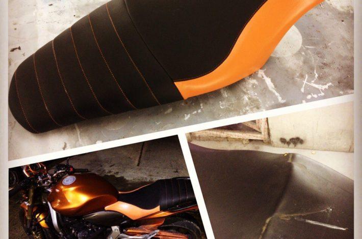 Перетяжка сидения мотоцикла cb600 hornet в Сочи