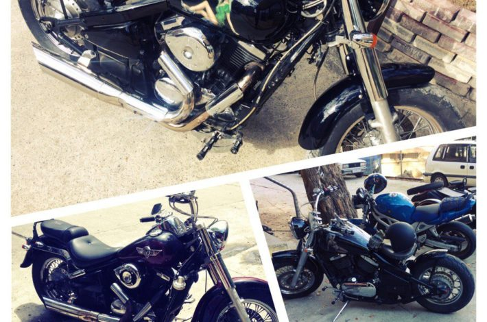 Кастомайзинг мотоцикла в Сочи Kawasaki Vulcan