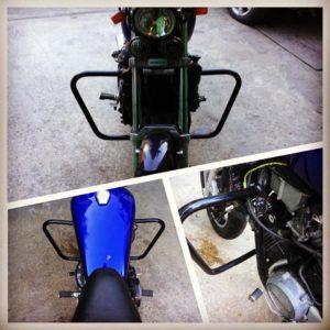 телега сочи ремонт мотоциклов мотосервис сделать защитные дуги клетки двигателя