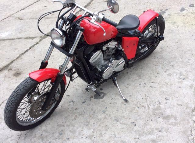 Постройка кастом мотоцикла класса Bobber
