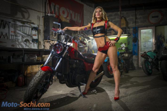 Постройка кастома в Сочи, восстановление культового мотоцикла Honda Magna